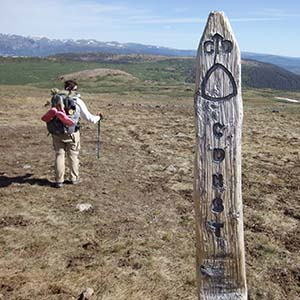 Continental Divide Trail Coalition Connecting The Community That - Interactive map of the continental divide in the us
