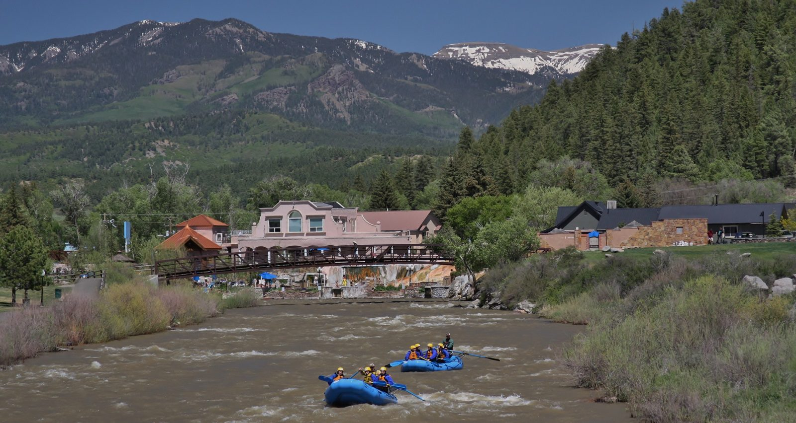 The San Juan River provides residents and visitors with year-round enjoyment