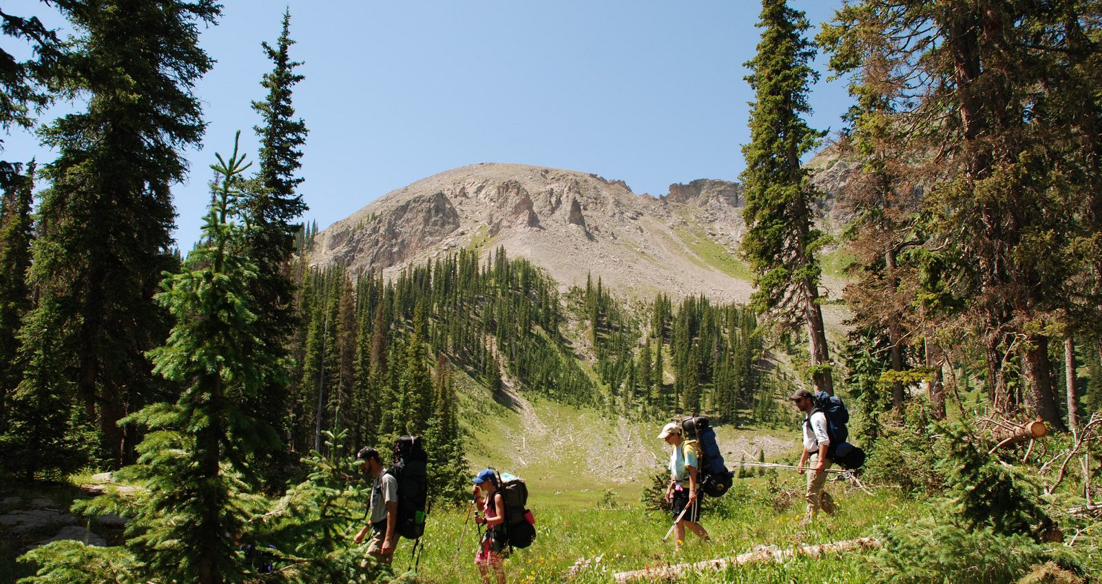 The San Juan Mountains are hiker heaven!