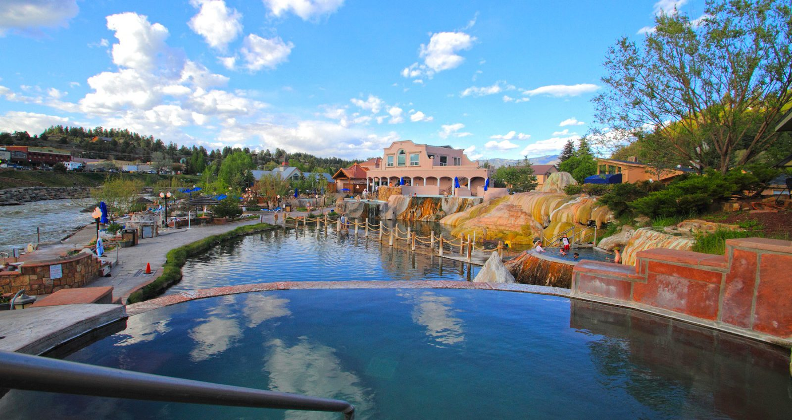 Pagosa Springs is known for its rejuvenating hot springs