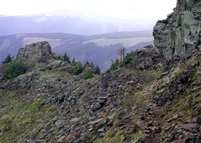 The Knife Edge, Weminuche Wilderness Area