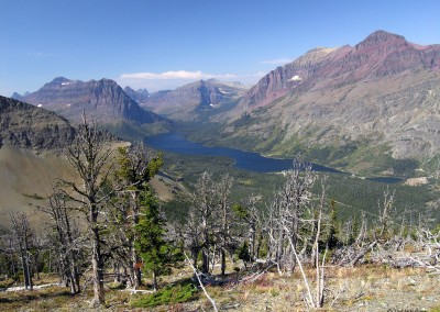 Triple Divide Pass and Rising Wolf Mountain Loop, Glacier National Park