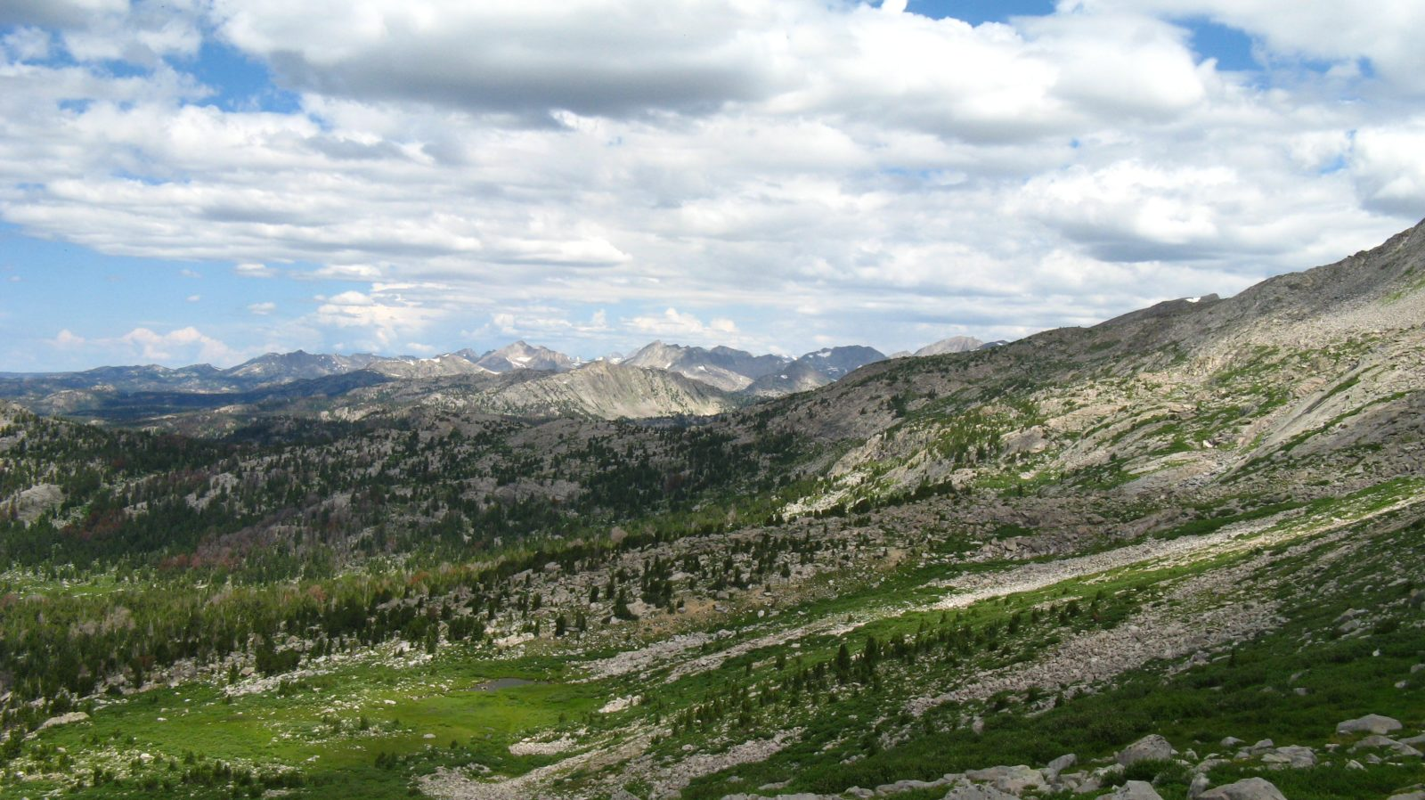 The high country of the Wind River Range