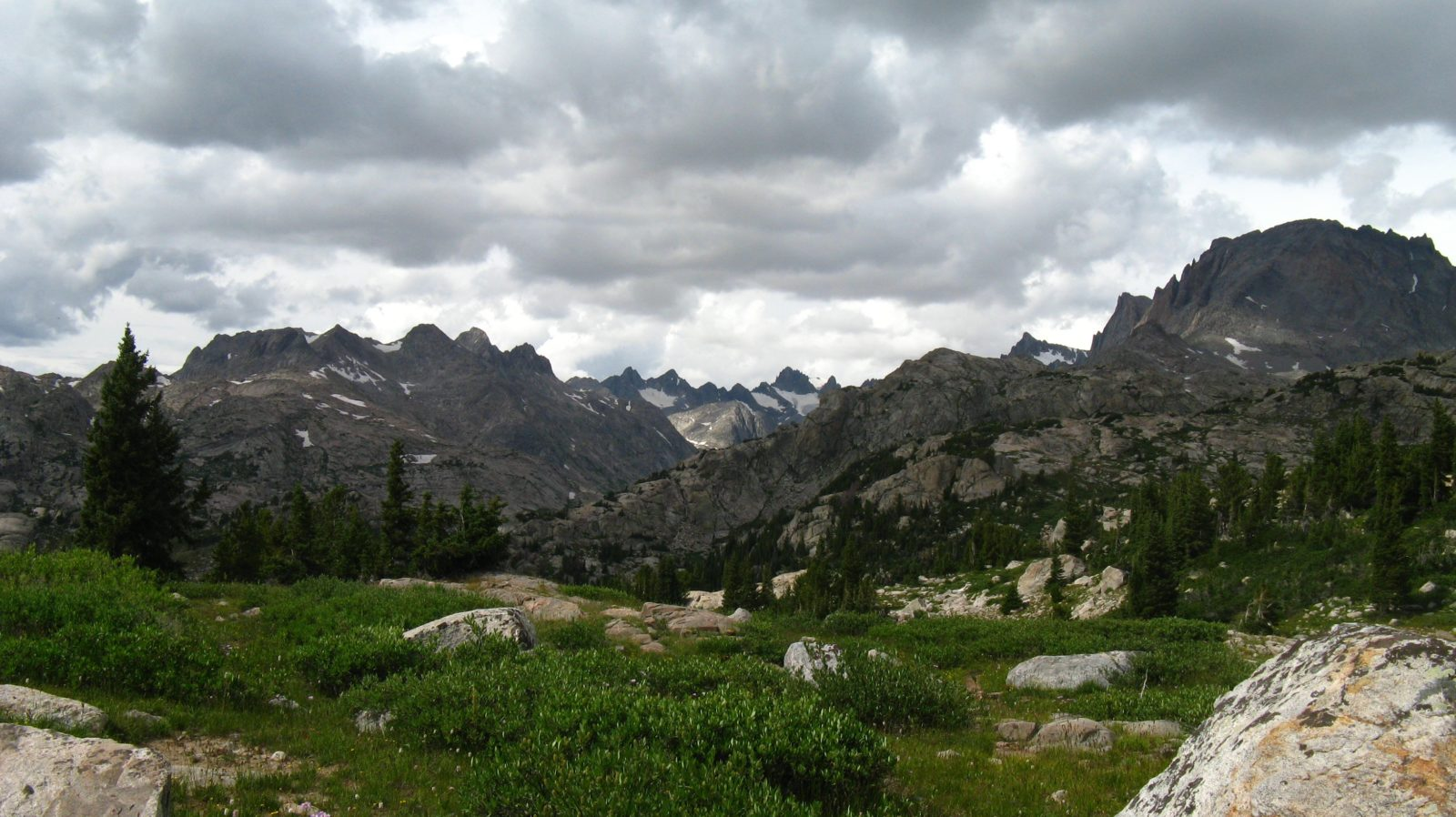 Wind River Range Scenery
