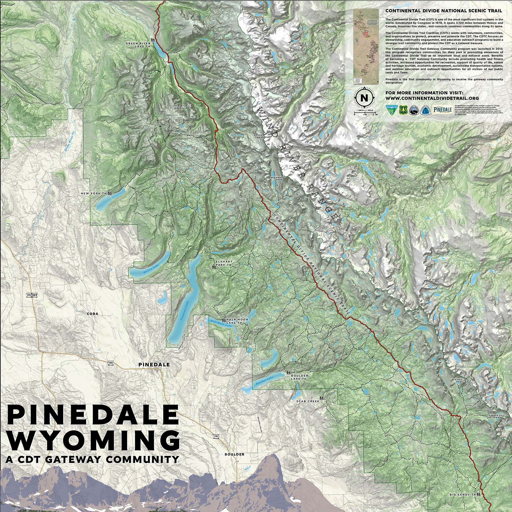 Pinedale | Continental Divide Trail Coalition